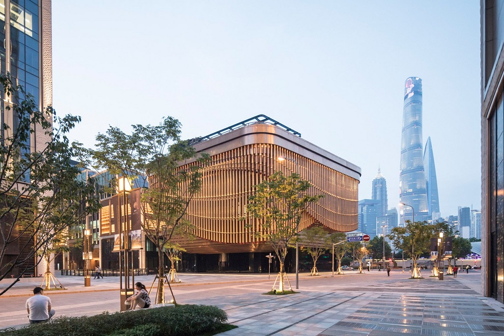 The Graceful Moving Veil of Bund Finance Center, Shanghai (9)