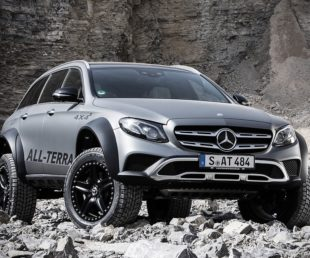 The E-Class All Terrain 4x4² is Most Off-road Capable SUV (8)