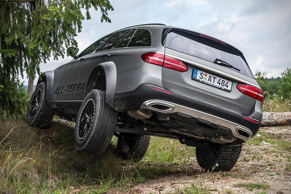 The E-Class All Terrain 4x4² is Most Off-road Capable SUV (2)