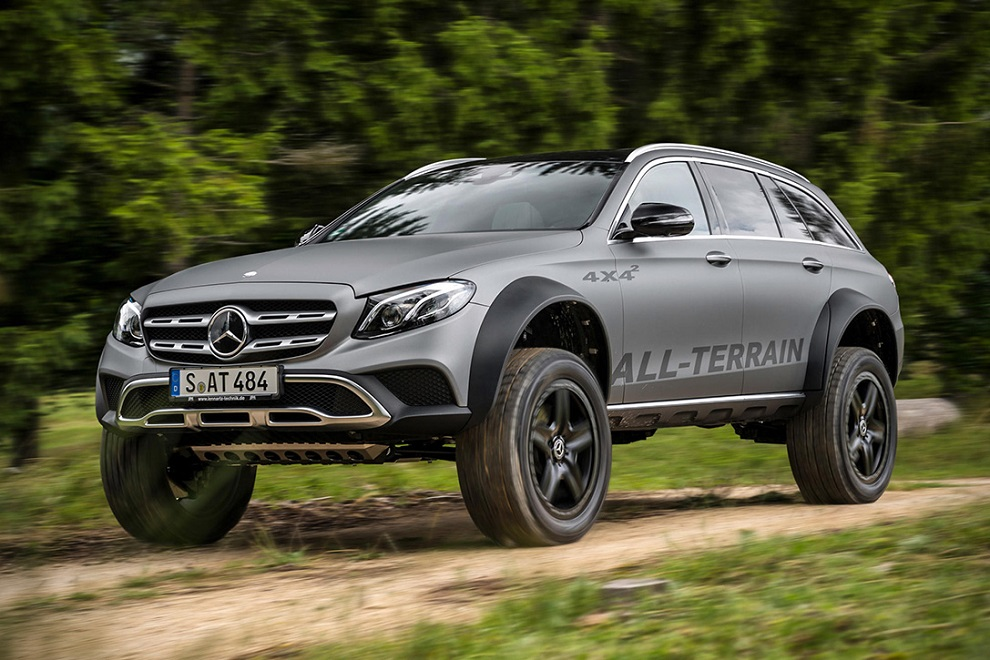 The E-Class All Terrain 4x4² is Most Off-road Capable SUV (1)