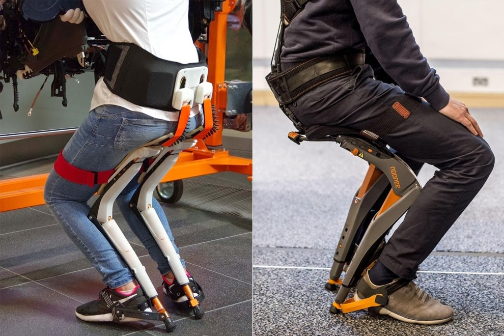 Noonee Chairless Chair Reduces Physical Strain at Work (4)